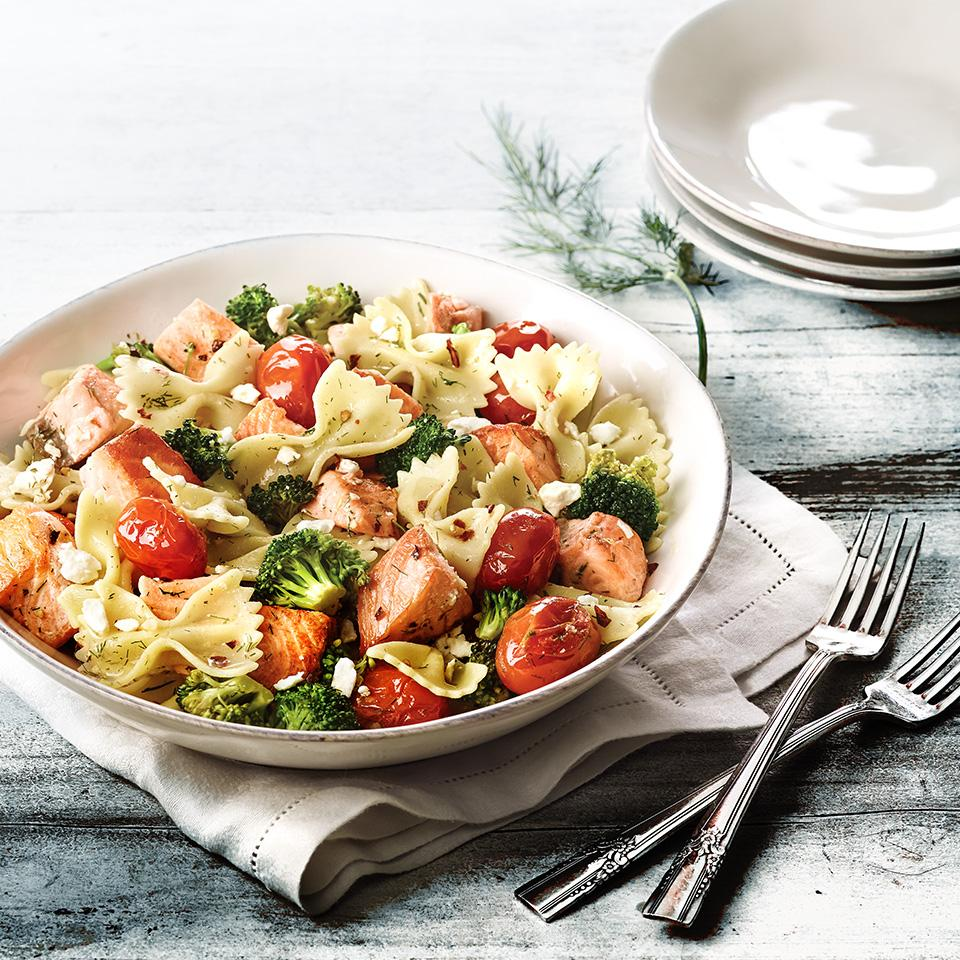 Seaside Pasta with Vegetables