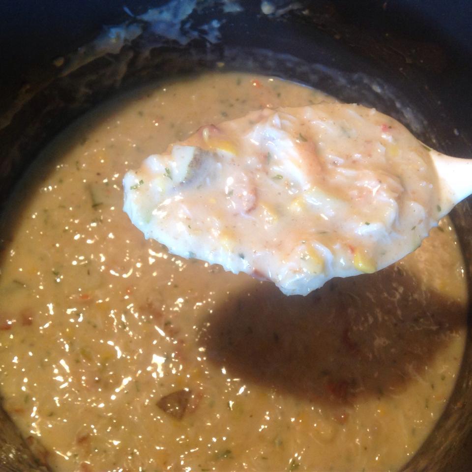 Easy Corn and Crab Chowder ktara28