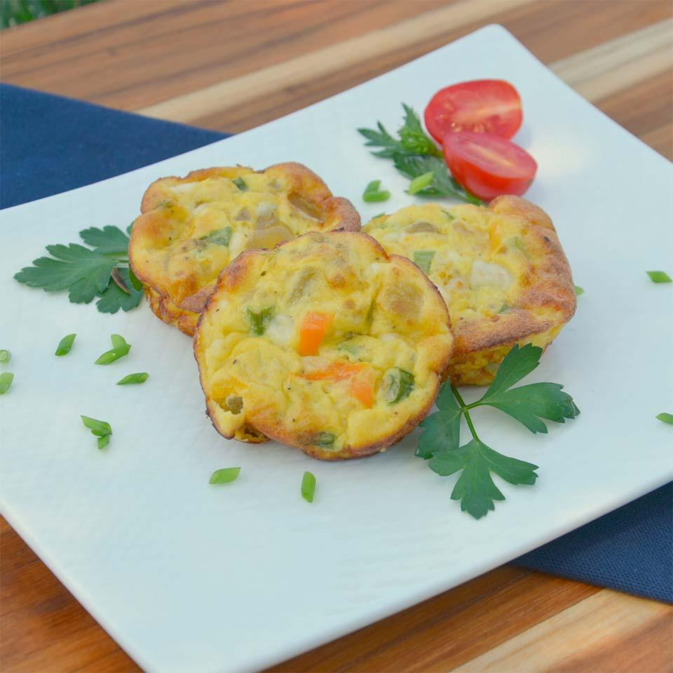 Cottage Cheese Breakfast Muffins Lactaid