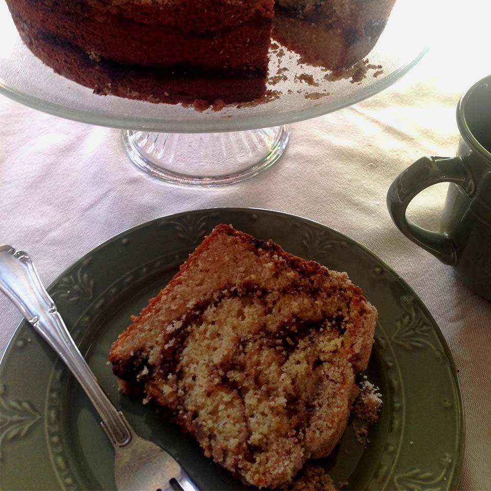 Jan's Cinnamon and Maple Swirl  Better -Cream Coffee Cake Allrecipes Trusted Brands