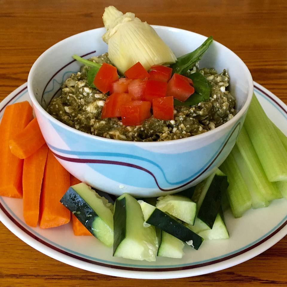 Spinach Artichoke Lactaid® Dip