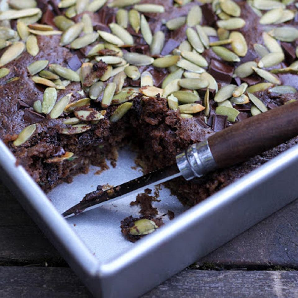 Chocolate Apple Zucchini Picnic Cake Oxbow Farm