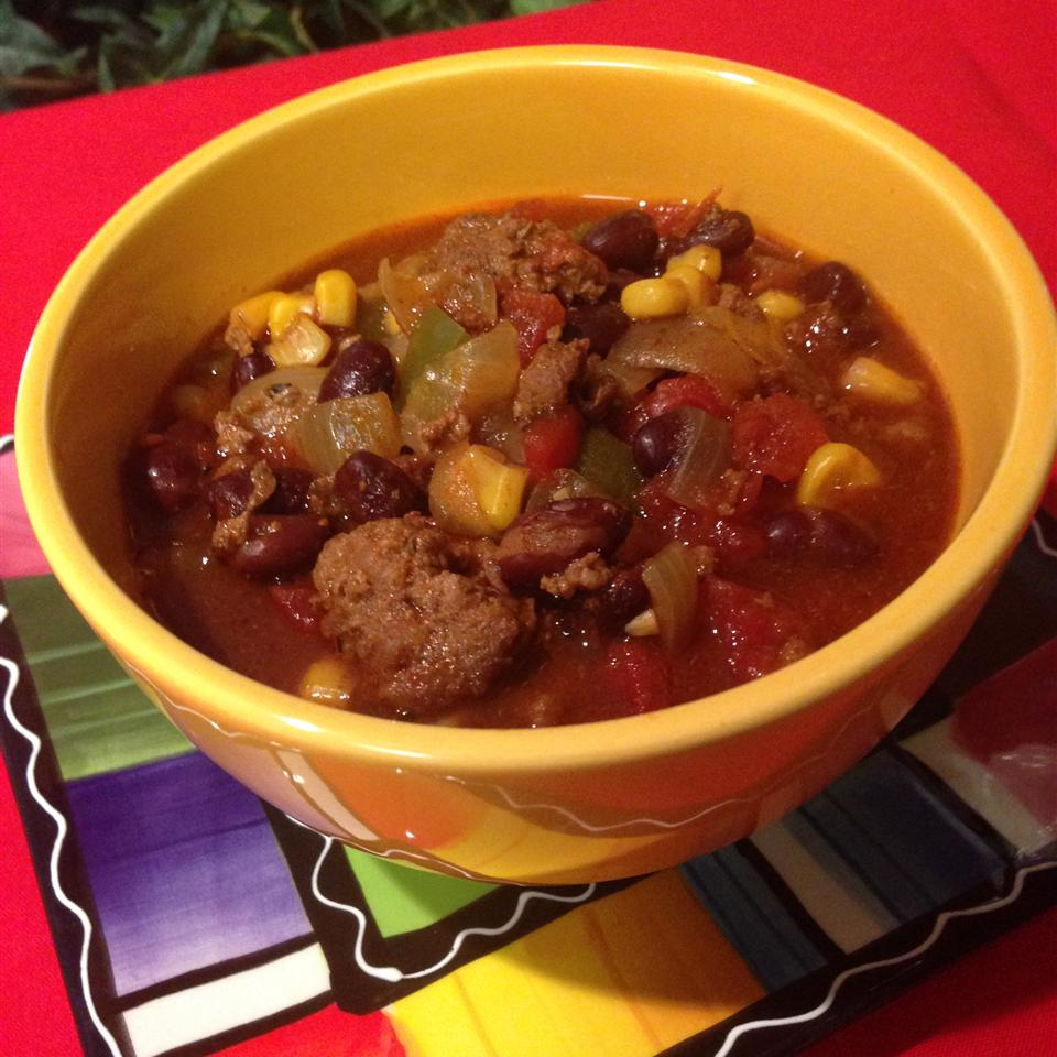 Slow Cooker Taco Soup with Ranch Dressing Mix