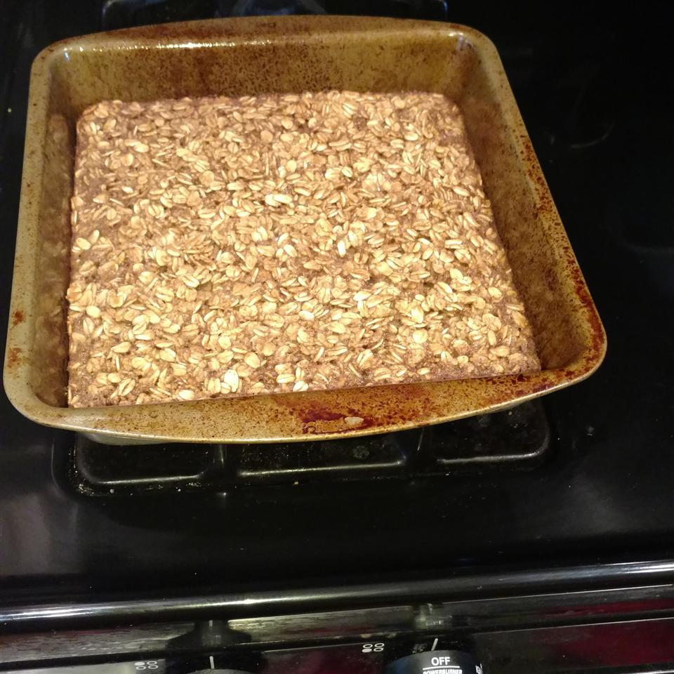Baked Oatmeal Breakfast Bars Sandy