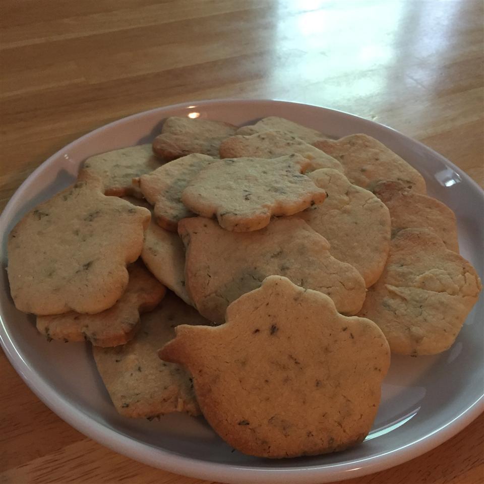 Lavender Shortbread Cookies Jenna Danler