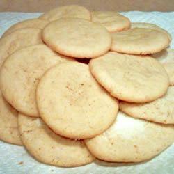 Powdered Sugar Cookies I Alicia K. Chaput