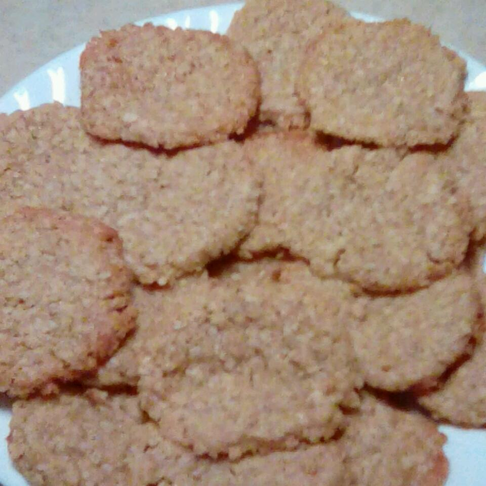 Oatmeal Shortbread Cookies Naomi Langley