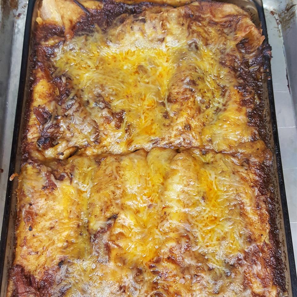 Slow Cooker Beef Enchiladas Tanya Gamez