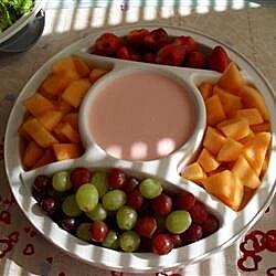 baby shower raspberry dip recipe
