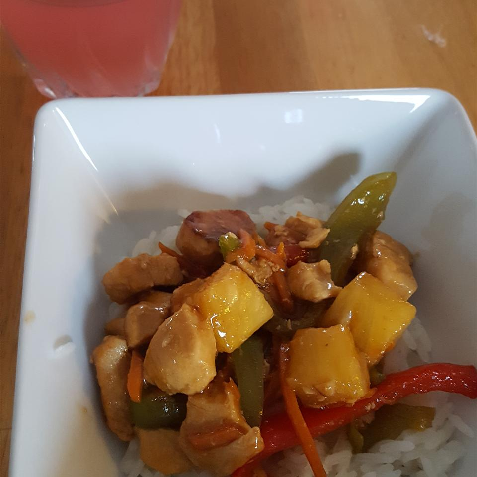 Sweet and Sour Chicken III