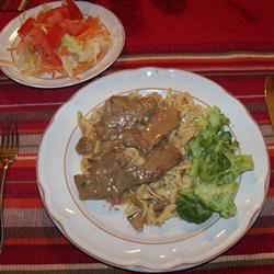 No Sour Cream Beef Stroganoff
