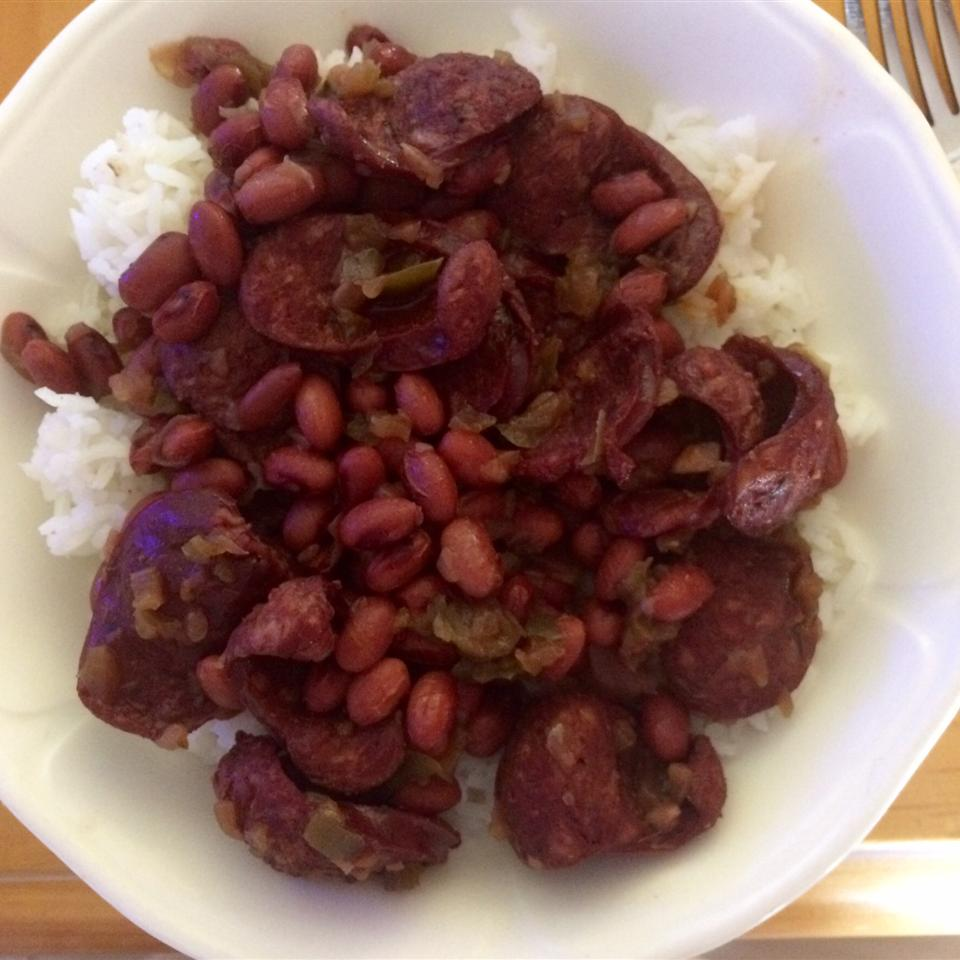 Pressure Cooker Red Beans and Sausage Dwight J Young