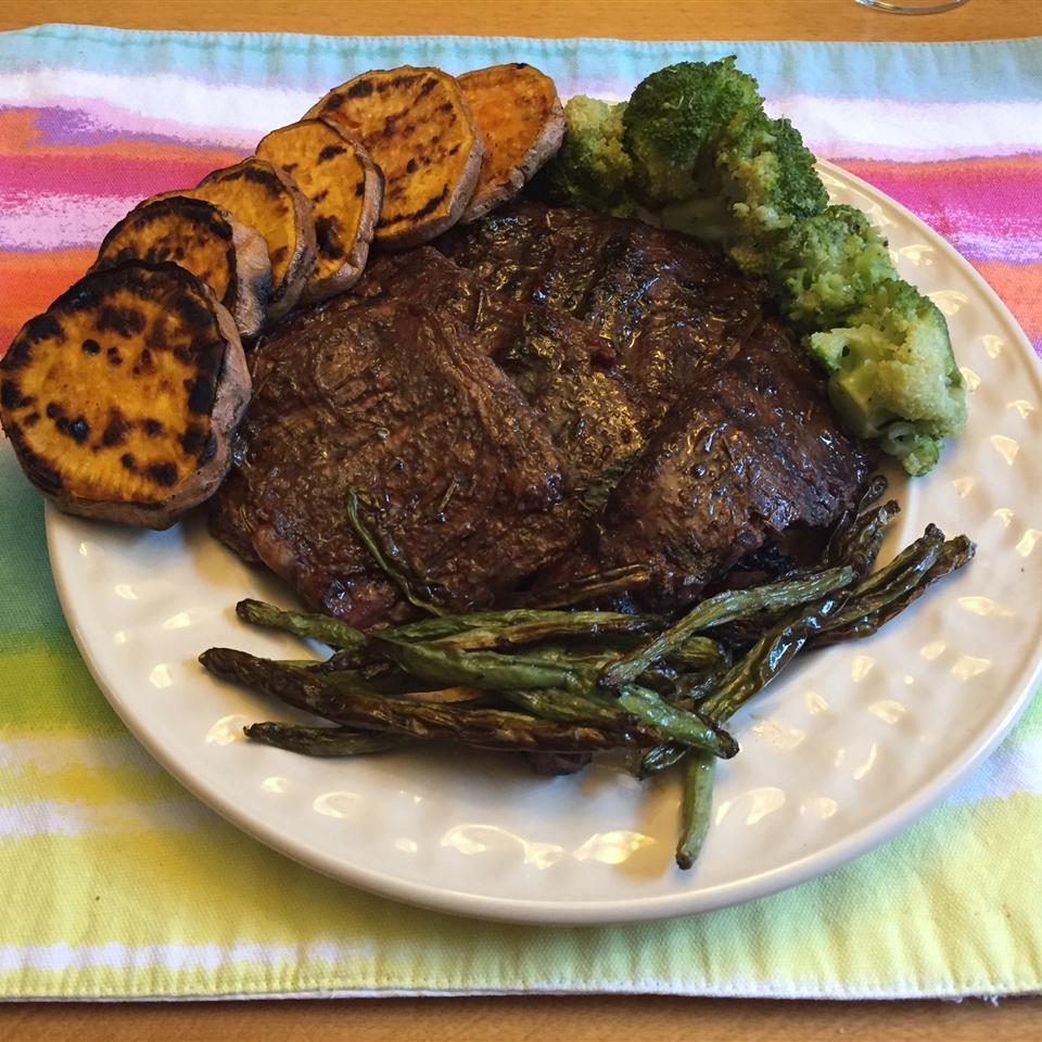 Marsala Marinated Skirt Steak