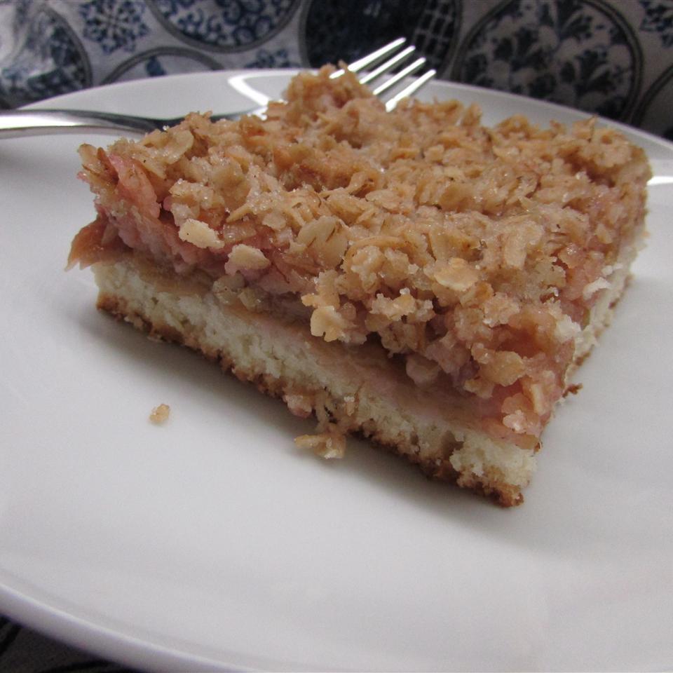 Rhubarb Compote Cake
