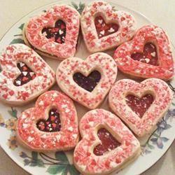 Easy Valentine Sandwich Cookies Steph6789