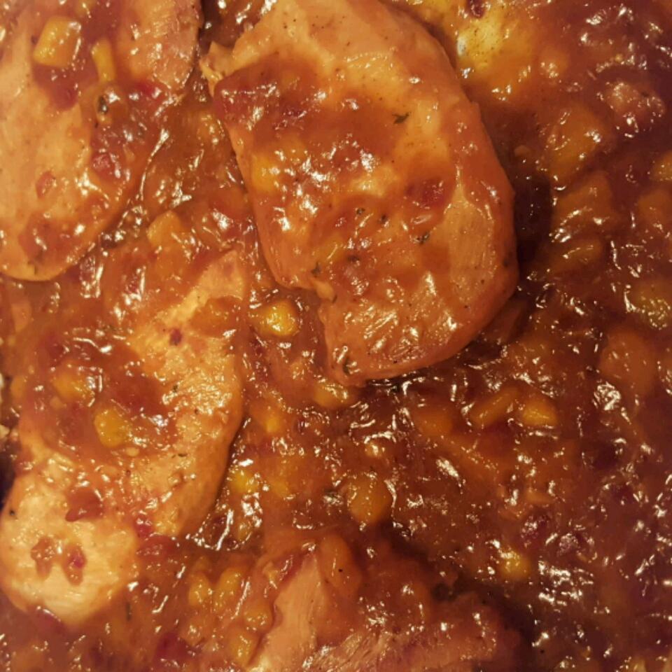 Mango Chicken chefcurrywiththepot