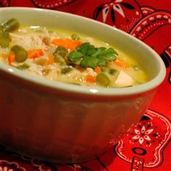 Creamy Chicken Vegetable Chowder image