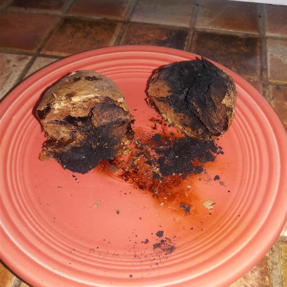 Microwave Baked Potato Dylan Thomas