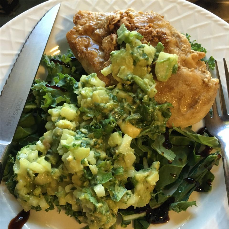 Cumin Rubbed Chicken with Avocado Salsa