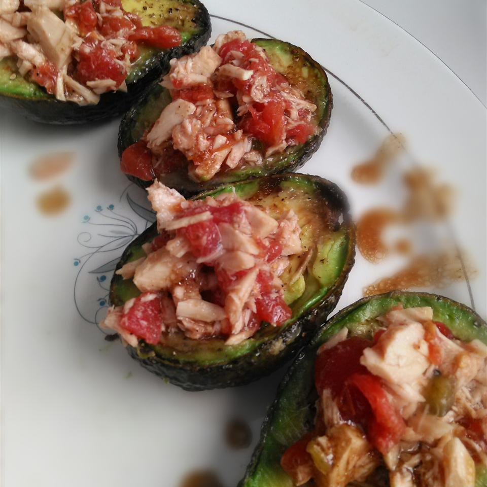 Gluten Free and Paleo Tuna Avocado Cups