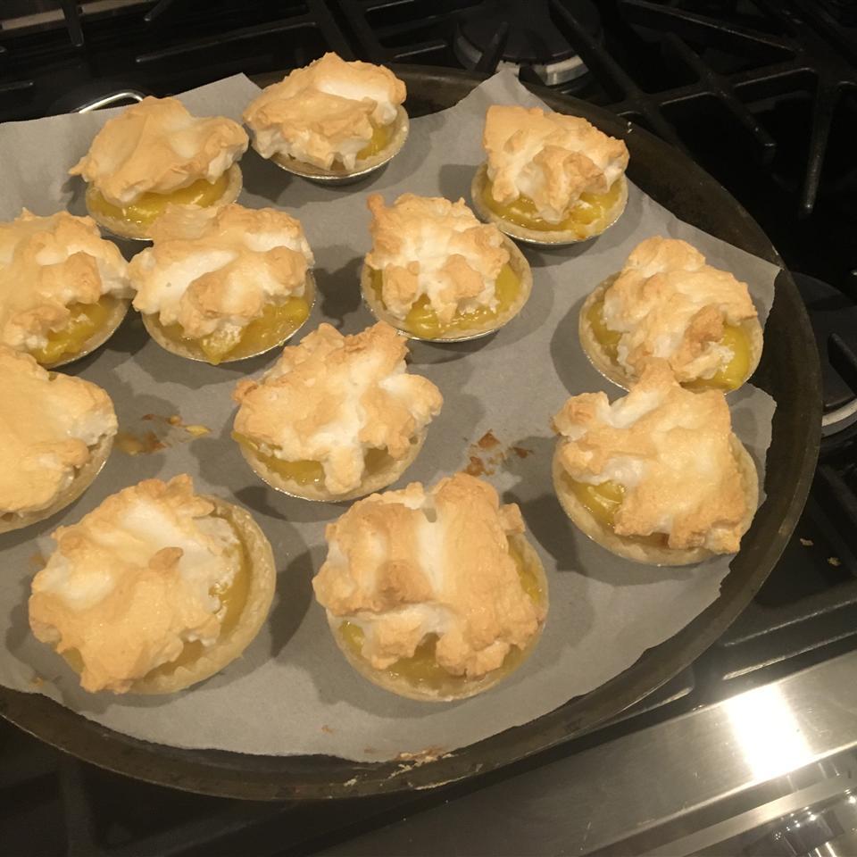 Mini Lemon Meringue Pies Haya