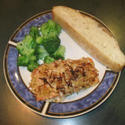 Baked Salmon with Coconut Crust Leanne