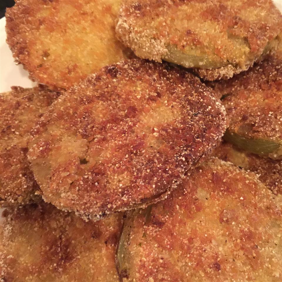 Chef John's Fried Green Tomatoes