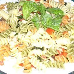 Tri-Color Pasta Salad Martin