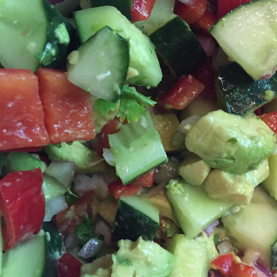 Cool Cucumber and Avocado Salad rantam1