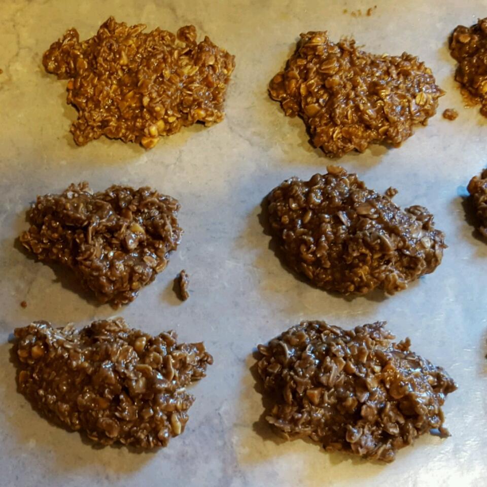 No Bake Peanut Butter Cookies I Mollie Nagel