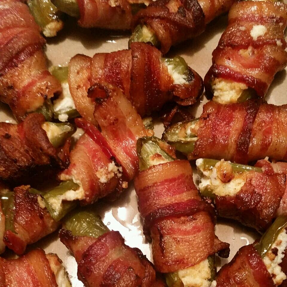 how long to cook bacon wrapped jalapenos in oven