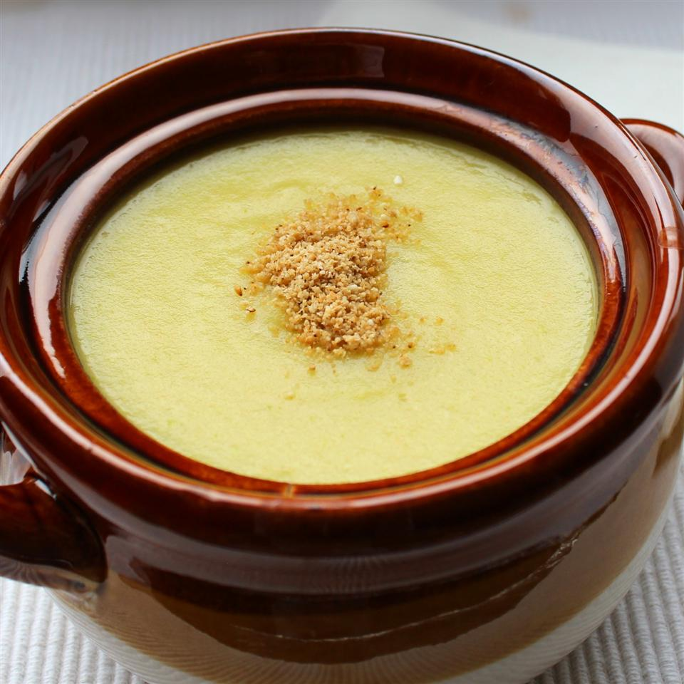 Crema di Cavolo Romanesco (Romanesco Broccoli Soup) Buckwheat Queen