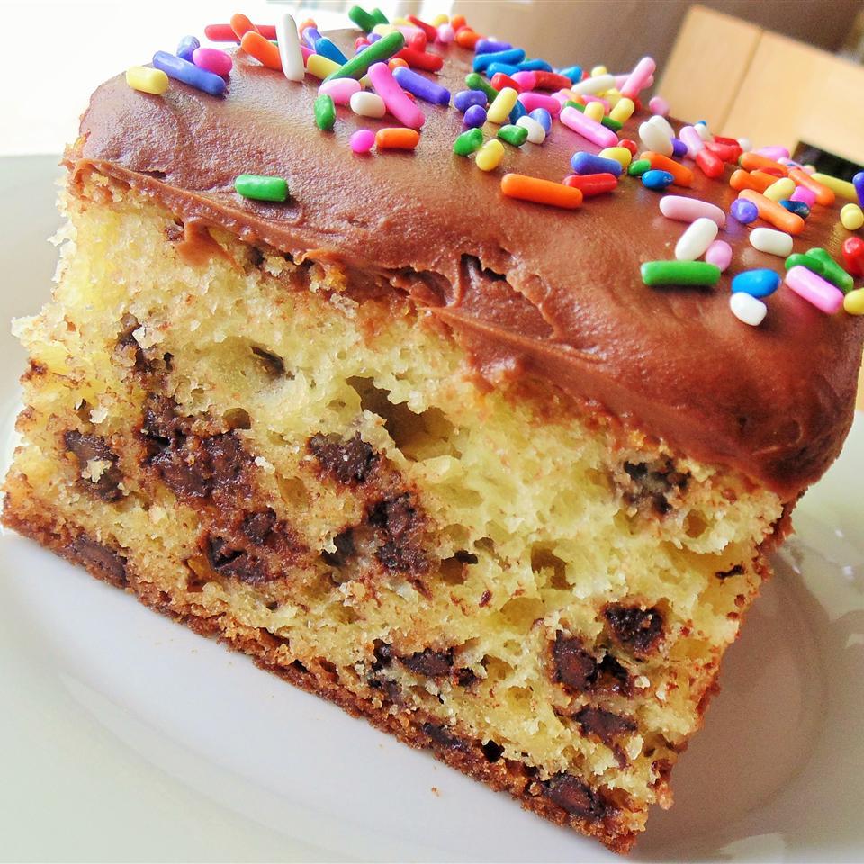 Chocolate Chip Sour Cream Cake