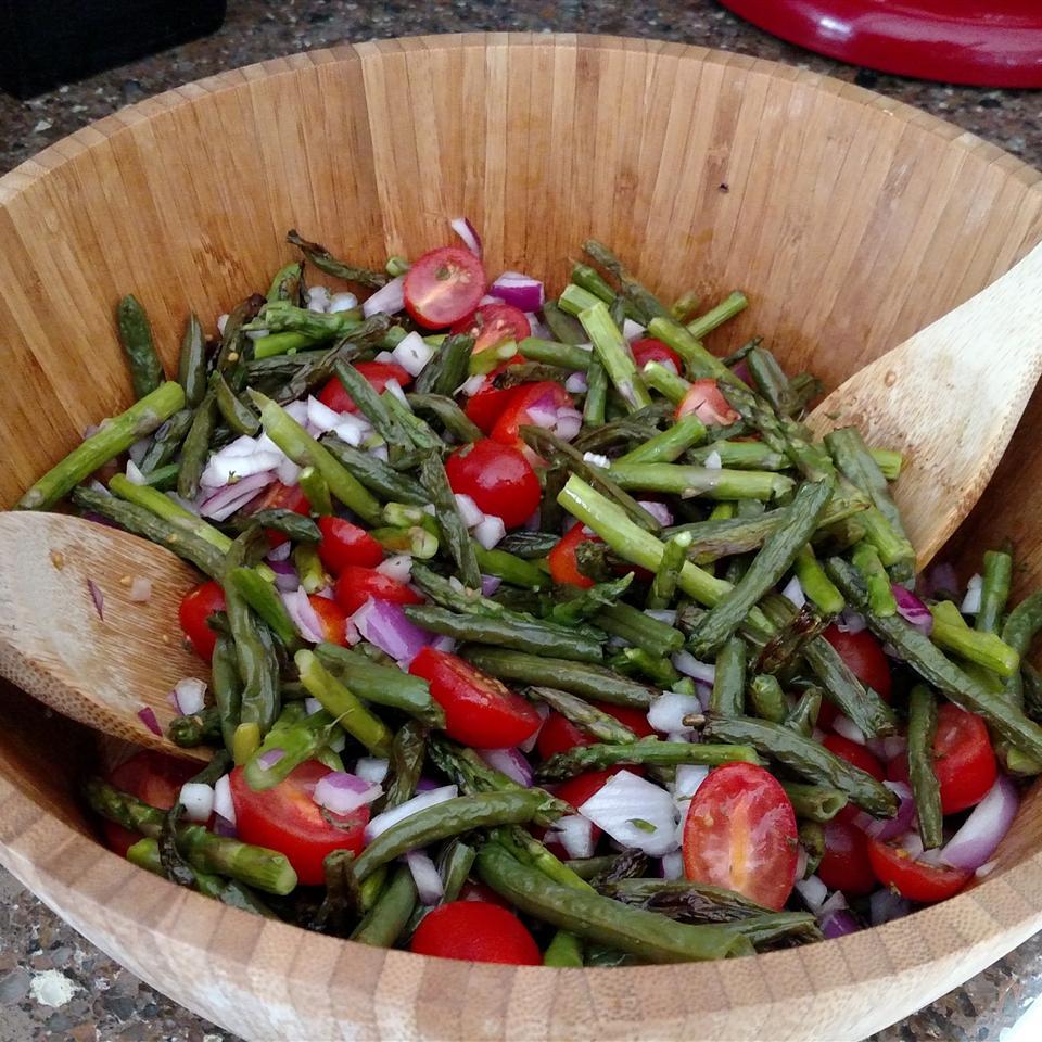 Green Bean and Asparagus Salad