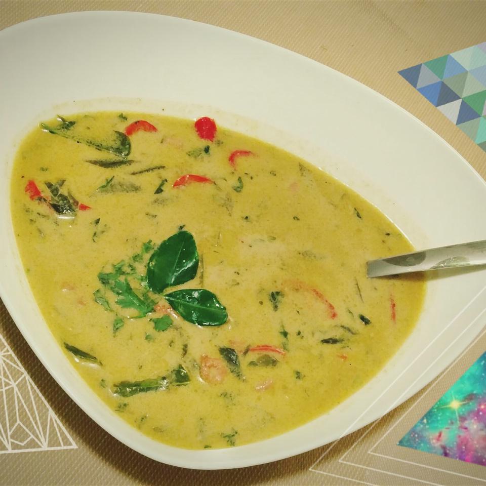 Thai Green Curry Prawns Razin Farzaan