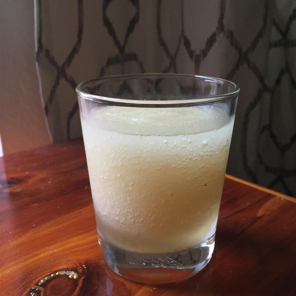 Whiskey Sidecar Slush with Broiled Lemon Juice