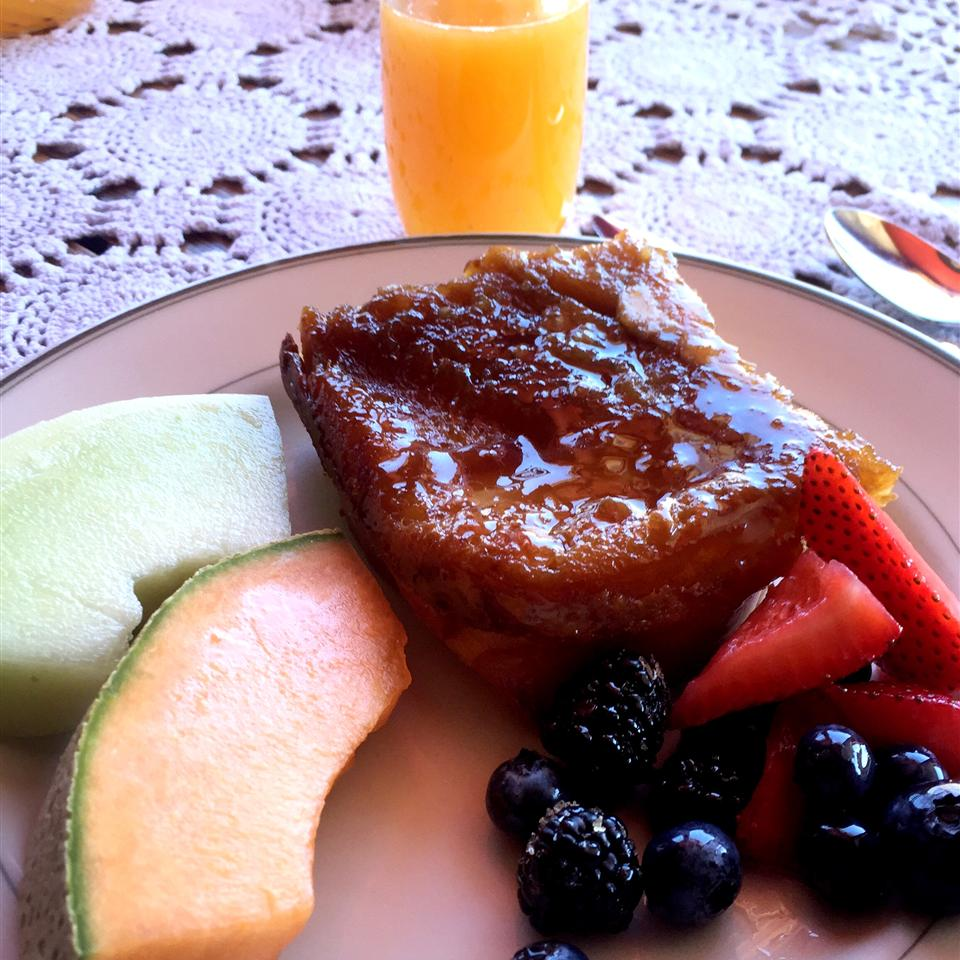 Creme Brulee French Toast Candace Gallagher