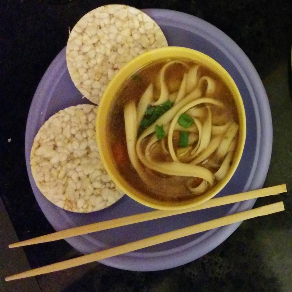 Janey's Vegetable Noodle Soup