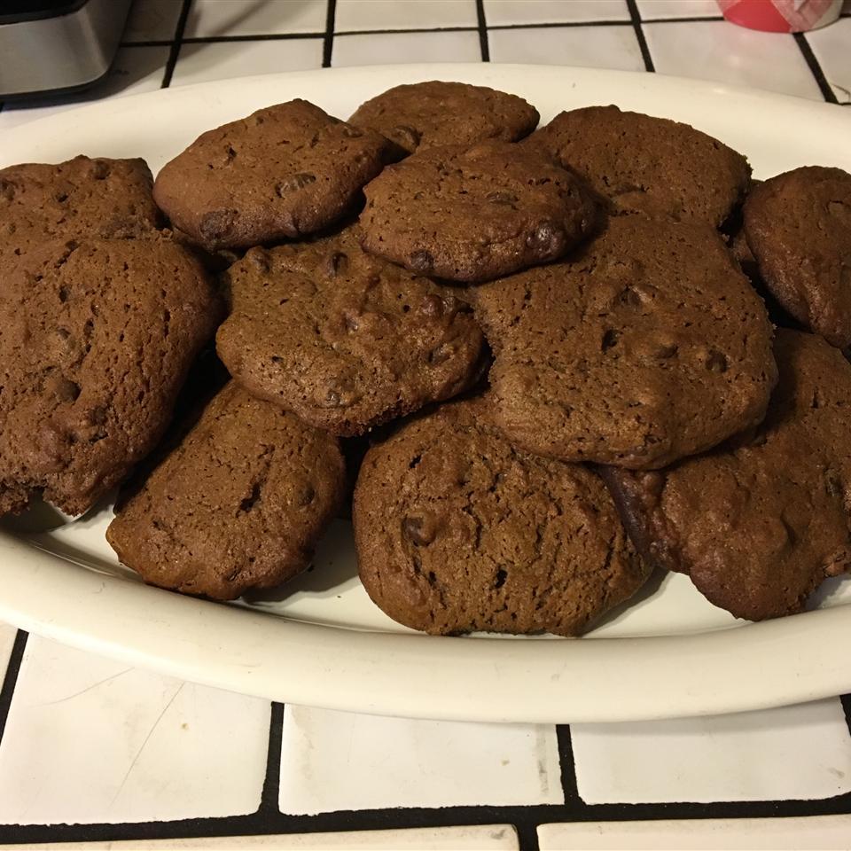 Eggless Chocolate Peanut Butter Cookies Sclark