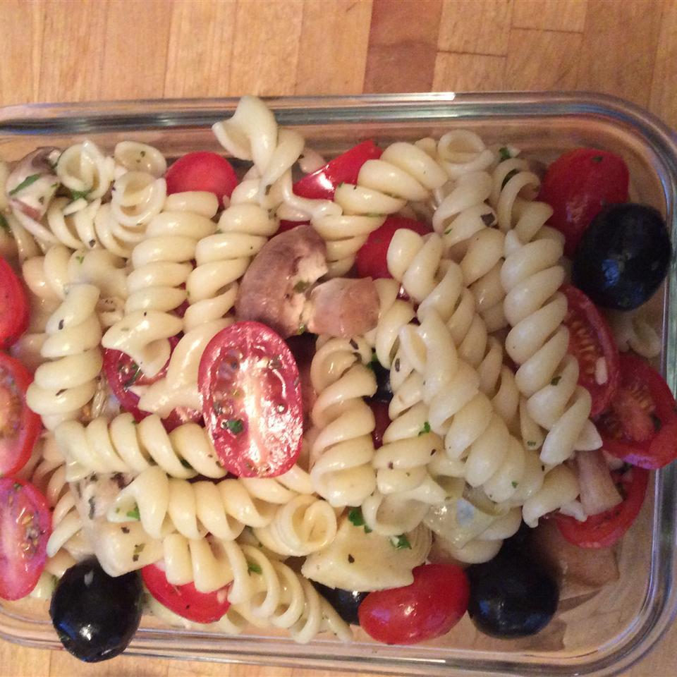 Quick Artichoke Pasta Salad lg