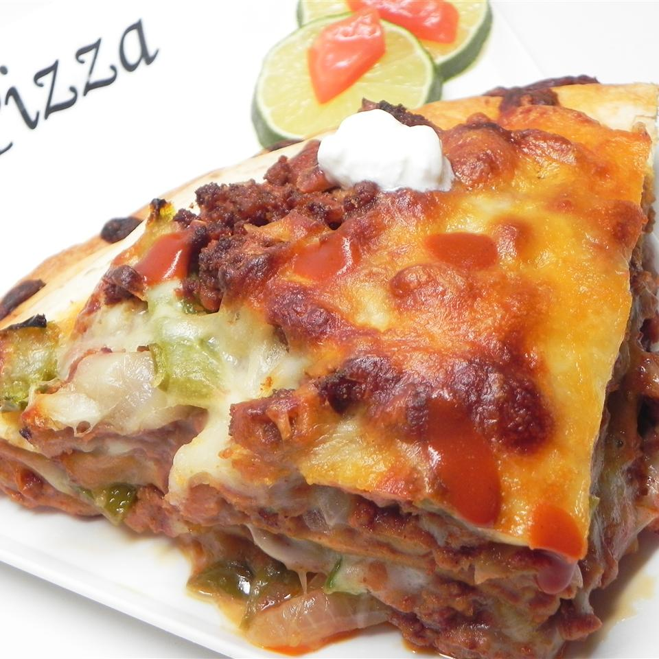 Mexican Deep-Dish Pizza Mindar