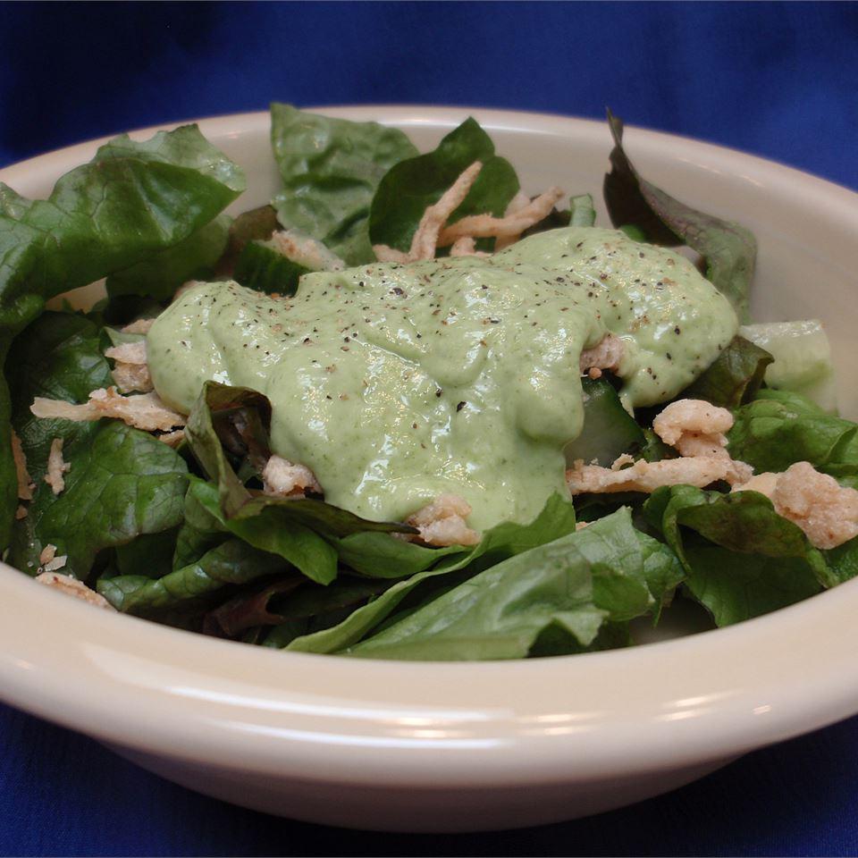 Cucumber-Avocado Salad Dressing Scotdog