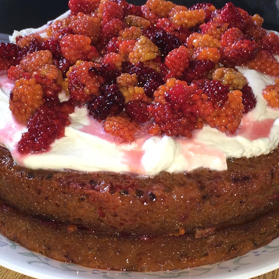 Salmonberry Cake inupiaqcook