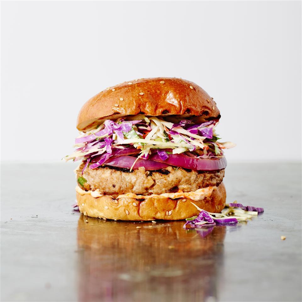 Asian Pork Burger