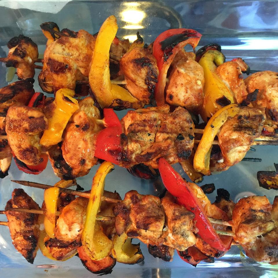 Chili-Lime Chicken Kabobs barry berman