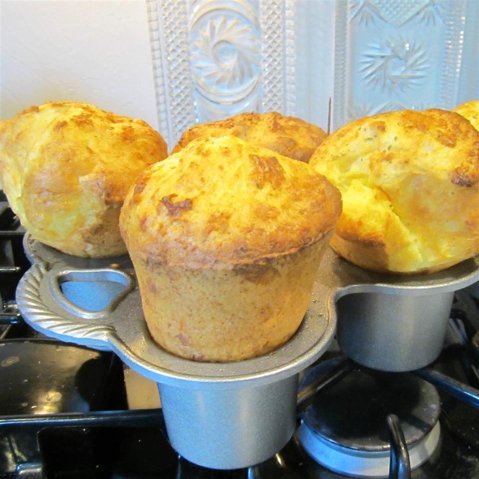 Spring Herb Popovers
