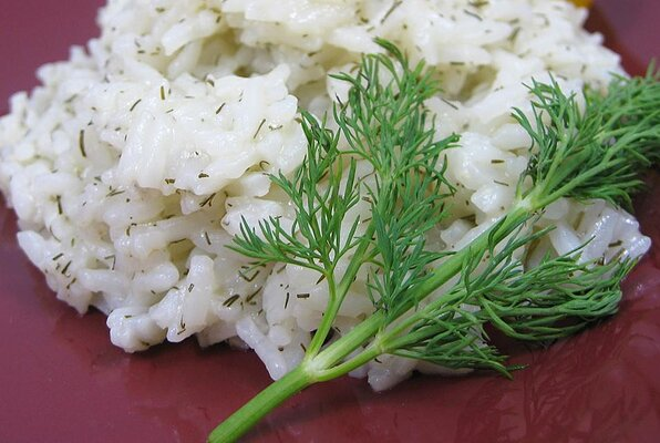 Lemon Dill Rice
