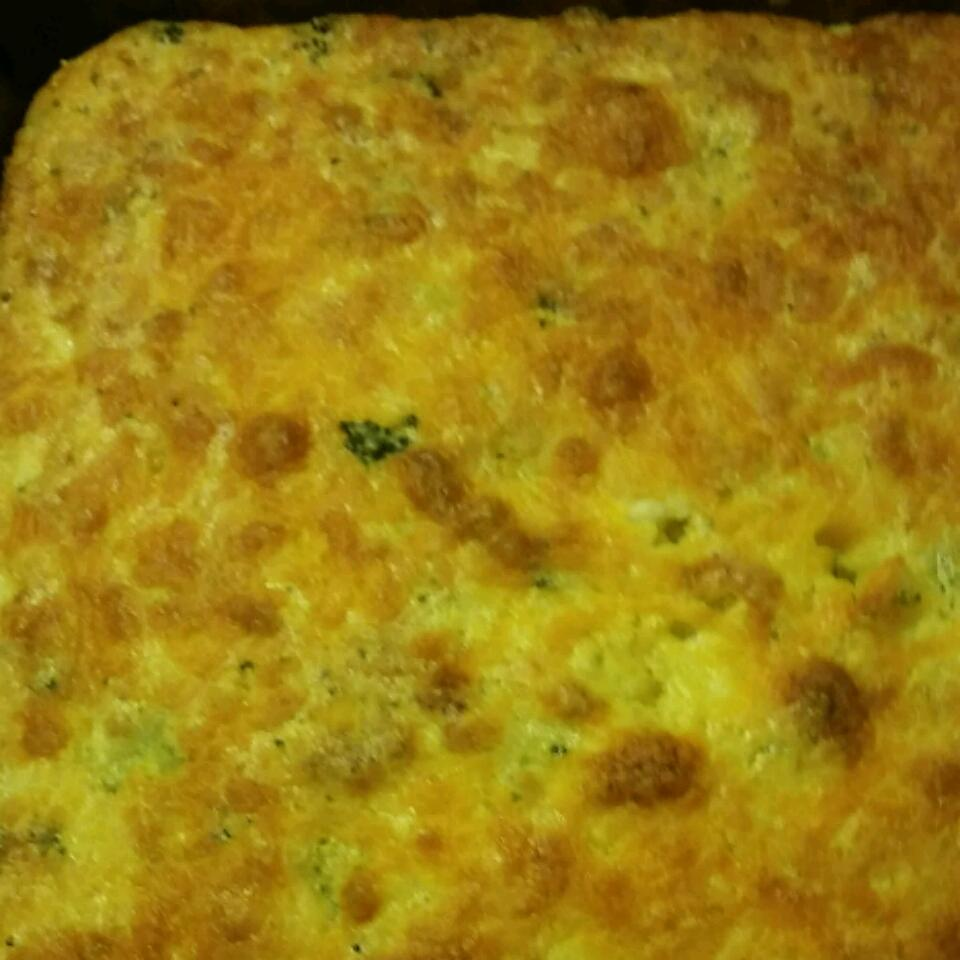 Broccoli Cornbread with Cheese