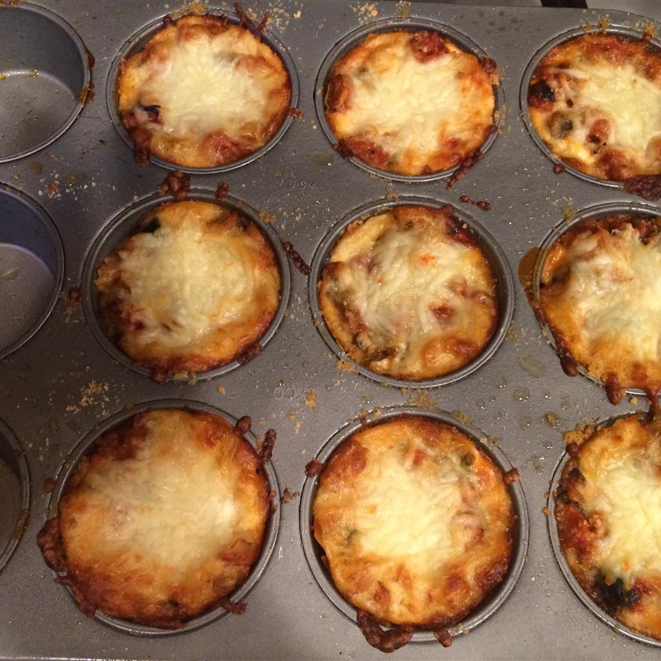 Lasagna Cupcakes