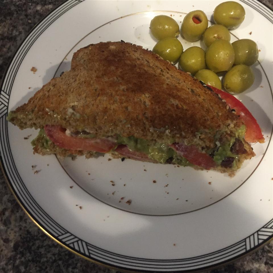 Midnight Snack Avocado Sandwich Folabomi Oyewo
